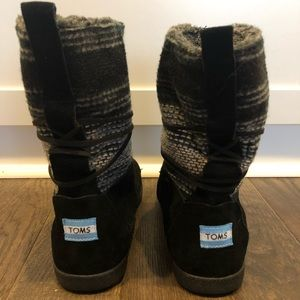 Toms winter lace up boots